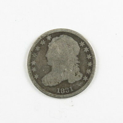 1831 Capped Bust Dime United States Silver Coin #12