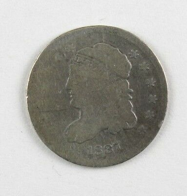 1837 Capped Bust Half Dime United States Silver Coin #12