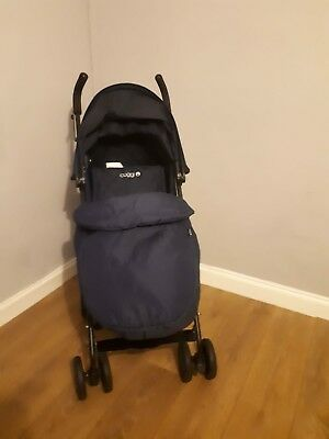 Lightweight Pushchair/stroller Cuggl Maple