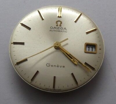 Vintage Omega Geneve Watch Automatic Movement Cal.565 &  Dial 29 mm