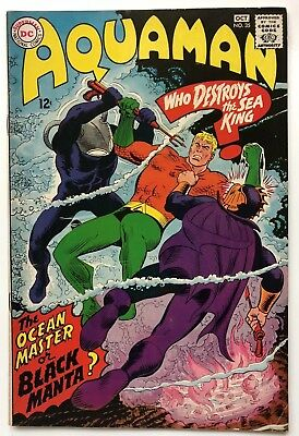 Aquaman #35 (Sep-Oct 1967, DC) First Appearance of Black Manta