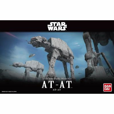 Bandai Hobby Star Wars AT-AT Walker 1/144 Scale Model Building Kit USA Seller
