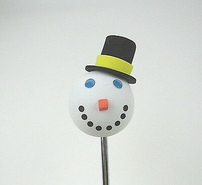 Jack in The Box Restaurant Snowman Antenna Ball Topper Christmas Holiday