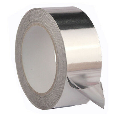 Aluminium Foil Tape 17M Big Roll Self Adhesive Insulation Reflective Duct Repair