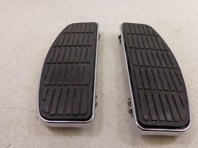 1983-2005 Harley Davidson FLH/T FLOORBOARD FOOTBOARD DRIVER LEFT / RIGHT SET