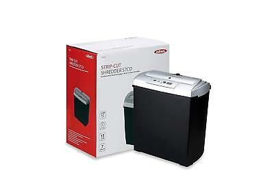 Ednet S7 Paper Shredder with CD/DVD / Credit Card Compartment Cutting Size 7 mm