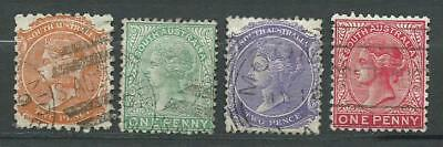 Queen Victoria - 23 old stamps mixed - Years 1876 to 1906