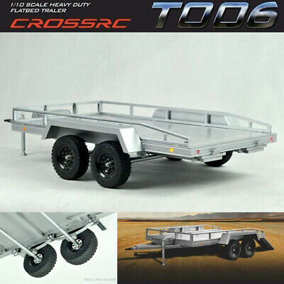 Cross RC CZR90100023 T-006 Heavy Duty Flatbed Trailer Kit w/Ramps & Lighting Kit