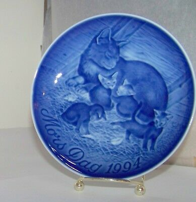 Vintage Bing & Grondahl 1994 Mother's Day Collector Plate FREE DOMESTIC SHIPPING