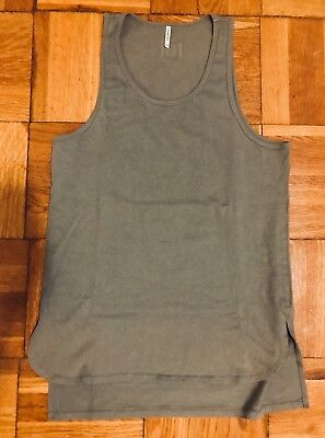76ec7baedd4508 FOG FEAR OF God x PacSun Essentials Tank Top Wild Dove Size M Medium ...