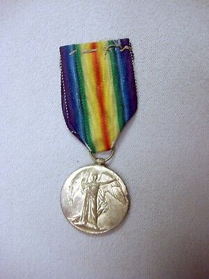 Wwi British Victory Medal  Named Cpl.lawson  Of The Scottish Cameronians