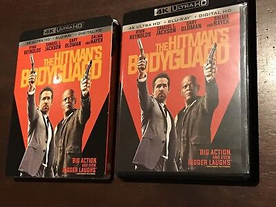 The Hitman's Bodyguard (4K Blu-ray UHD Disc only, 2016) Never Used *No Digital*