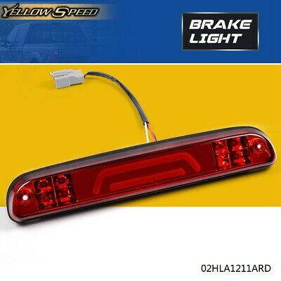 LED 3RD Third Brake + Cargo Light For 99-2016 FORD SUPER DUTY F-250 F-350 Red