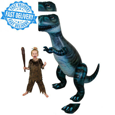 Giant Inflatable T-Rex Dinosaur Prop Approx. 8 Ft From Nose To Tail (243Cm)...