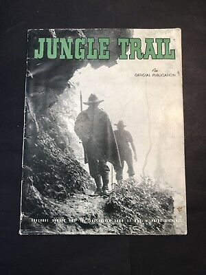 Vintage Army Publication JUNGLE TRAIL Australian Soldier in Bobdubi PNG WWI 1943