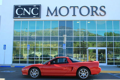 1995 Acura NSX 2dr Sport Open Top Manual 1995 Acura NSX Sport Open Top / Manual in Red Low Miles CNC Motors Upland CA