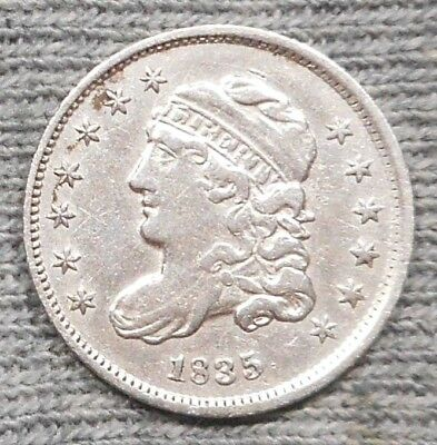 1835 Capped Bust Half Dime - Small Date/Small 5C