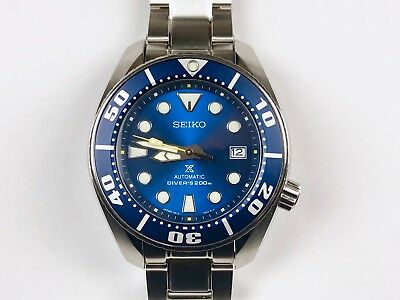 "SEIKO PROSPEX SBDC069 Sumo ""Blue Coral"" Dive  Watch 2018 Limited Edition JDM!"