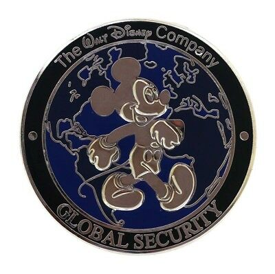 Disney Global Security Challenge Coin Rare