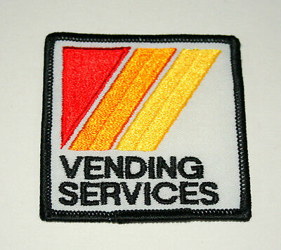 Vintage Vending Services Company Patch 1970s NOS New