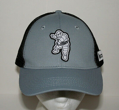 Michelin Man Rubber Tire Belt Car Grey Baseball Cap Hat New OSFM