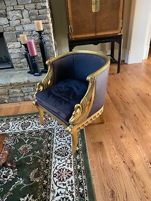 Karges Empire Swan Chair - Model 4940