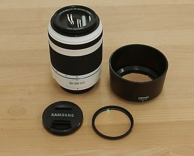 #11 White SAMSUNG 50-200mm F4-5.6 ED OIS III Tele Zoom Lens Plus HOYA UV
