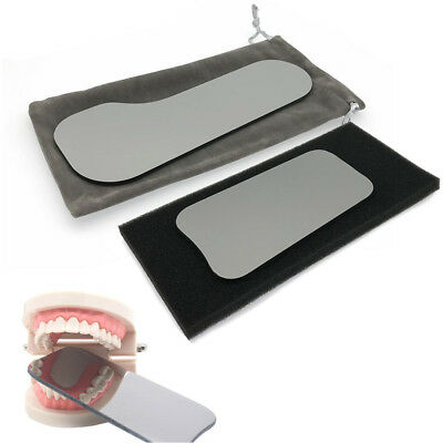 5pcs Dental Photographic Mirror Intra-Oral Orthodontic Glass Rhodium Reflector