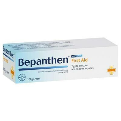 NC Bepanthen First Aid Antiseptic Cream 100g Fights Infection & Soothes Wounds