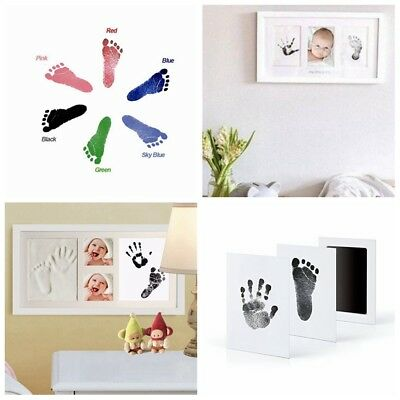 Paw Print Pad New Baby Foot Photo Frame Touch Ink Pad Baby Items Souvenir Gift