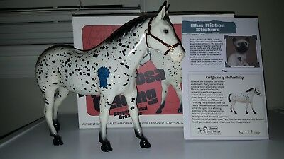 TWO BITS 2015 Vintage Club SR Glossy Leopard Appaloosa QHG, Only 500 Made!