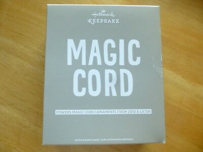 NIB Hallmark Keepsake Magic Cord Powers Magic Cord Ornaments from 2010 & Later