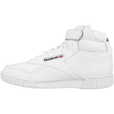 Reebok Ex-O-Fit Hi Schuhe Freizeit Sport Fitness High Top Sneaker white 3477
