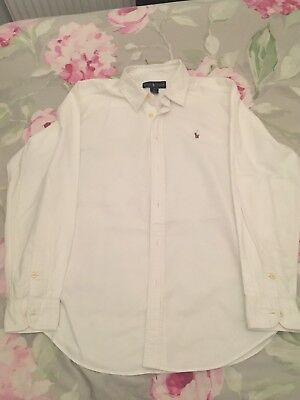 White Ralph Lauren POLO Oxford Shirt (Age 15-16) sells 18. See website for sizes
