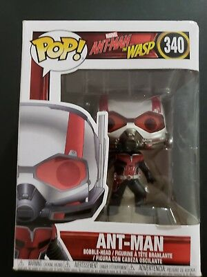 Marvel Pop Figure Antman And The Wasp 340 Bobble Head