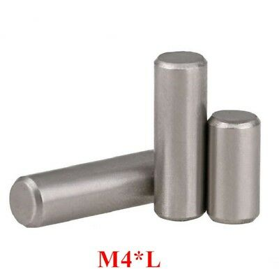 Chrome Steel Cylindrical Locating Pins Rod Solid Pin M4 4mm Dowel Pins Roller