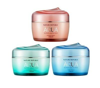 [NATURE REPUBLIC] Super Aqua Max Watery Cream - 80ml (3 types)