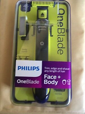 New Philips One Blade Face + Body Pro Trimmer QP2620