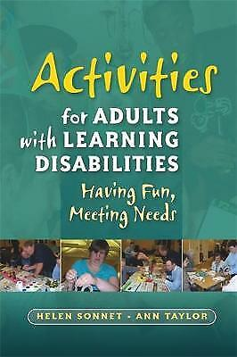 Activities for Adults with Learning Disabilities, Helen Sonnet