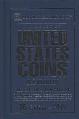 The Official Blue Book Handbook of Us Coins 2019 Hard Cover 9780794846503