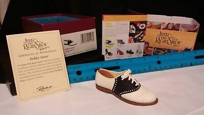 Just the Right Shoe Bobby Soxer Mini shoe collectible