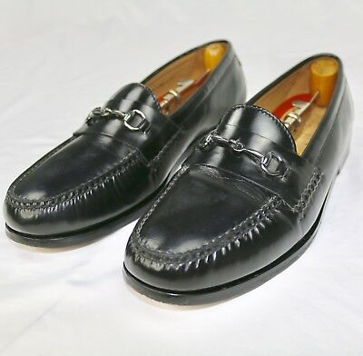 5727d7bf8d0 Cole Haan Loafers Horsebit Moc Toe Mens Black Leather Slip On Shoes Size  11.5M