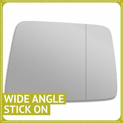 Left side Wide Angle Wing mirror glass for Nissan Patrol Y61 1998-2009 Heated