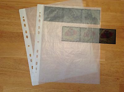 Translucent 120 negative storage pages for 120 film.  Qty 25.