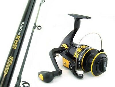 SAMBO GRX 15kg 6'6 Boat Spinning Fishing Rod and Reel Combo Snapper PRESALE