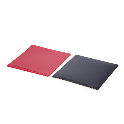 1X Inverted Rubber Sponge For Table Tennis Racket Ping Pong Paddle Red/Black *TR