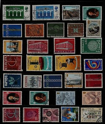 EUROPA Thematic STAMP Collection USED Ref:TS933