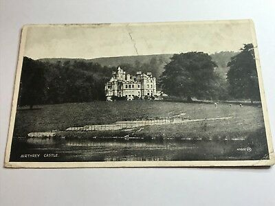 postcard  airthrey castle  scotland valentine  & sons sliversque real photo