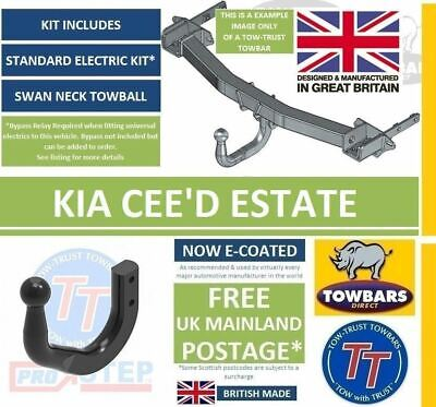 Towbar Swan Neck for Cee'd Ceed Estate JD Tow-Trust 2012 to 2018 TT THY13SN