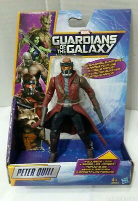 The Guardians Of Galaxy Figure Peter Quill Marvel Hasbro 13 Cm Starlord Groot